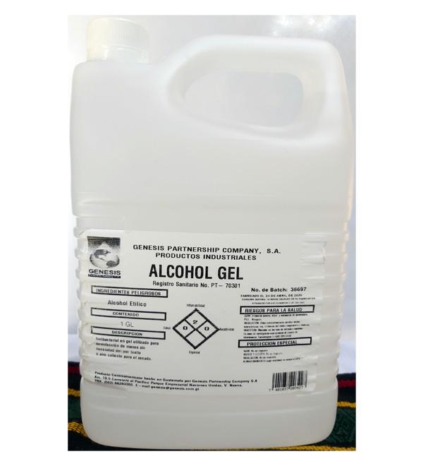 Alcohol Gel en galón
