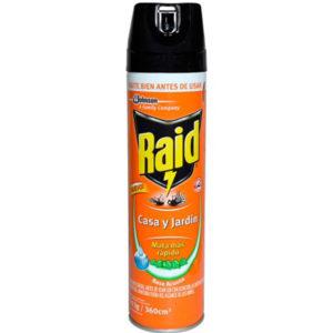 Insecticida RAID Casa y Jardín
